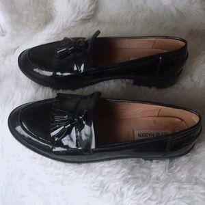 Steve Madden Meela Lug Tassel Loafers